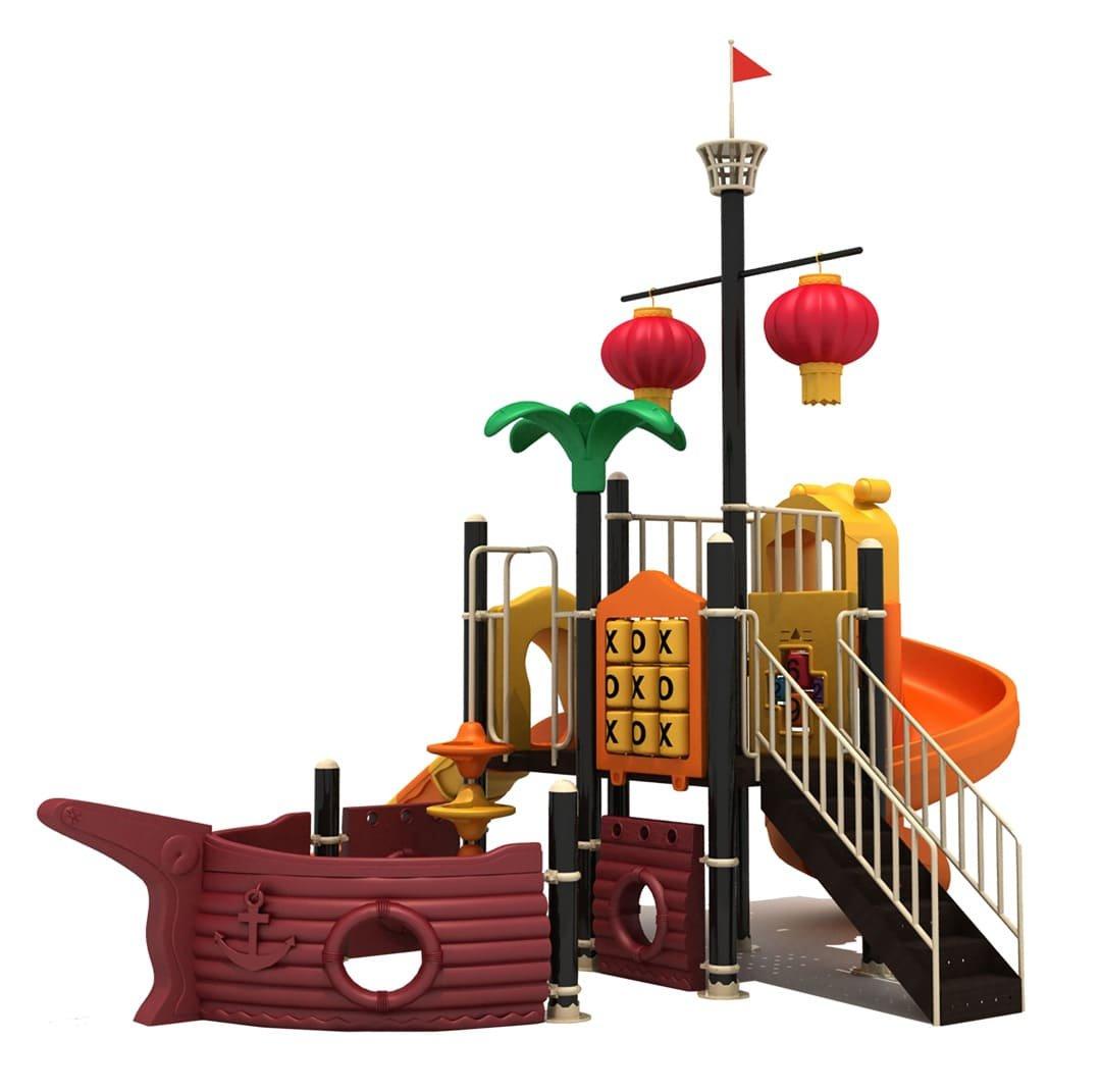 Barco pirata infantil para parque